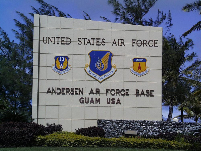 Anderson AFB, Guam – CCOF